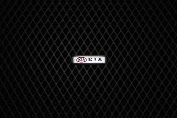 Шильдик металлический KIA