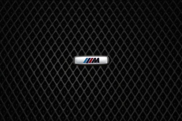 Шильдик металлический BMW M