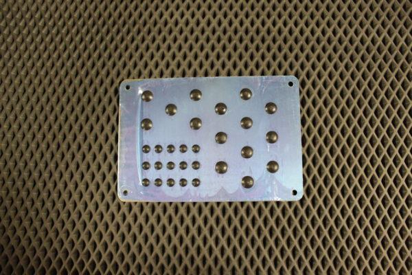 Подпятник алюминиевый XNX5