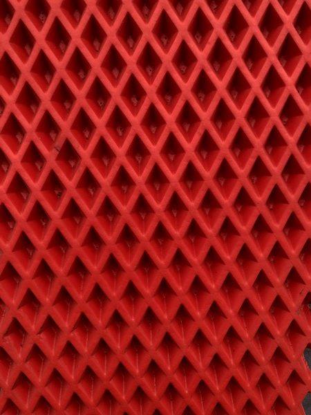 Лист Эва ромб Красный (3.15 кв.м.)