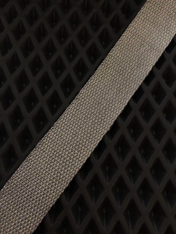 Окантовочная лента темно-серый цвет
